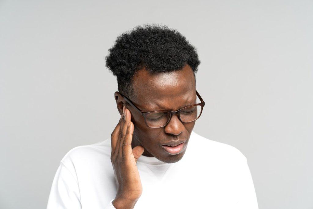 Personne souffrant de troubles auditifs